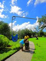 New Orleans Sculpture Garden, Safety Pin & Family