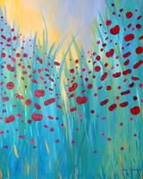 Sunlit Poppies
