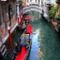 Venice Canal Vision Art Prints & Posters by Mary Whitmer