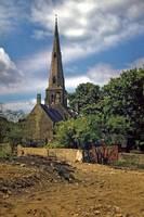 Parish Church, Irchester by Priscilla Turner