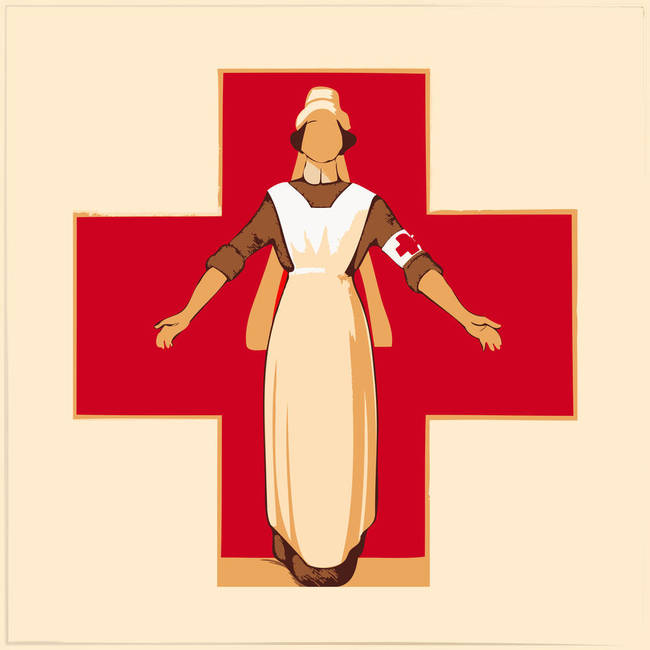 Red Cross, circa 1914
