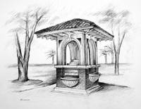 Women's Civic League Fountain ~ 1914