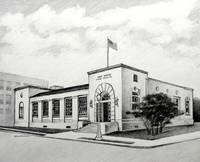 U.S. Post Office ~ 1939