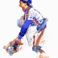 """Gary Carter  The Kid"" by joepetruccio"