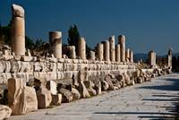 One of 3 main streets in Ephesus