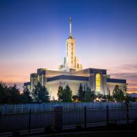 Mount Timpanogos Temple Art Prints & Posters by Kory Trapane