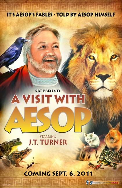 """A Visit with Aesop"" Promotional Poster"