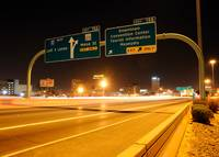 El Paso - Downtown Exit on Interstate 10