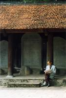 Scholarly Man, Temple of Literature, Hanoi, Vietna