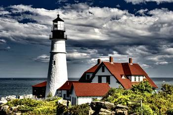 Portland Head Light by New Yorkled