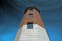 Point Judith Light (Pastel)