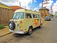 Volkswagen Art Bus in the Marigny, New Orleans