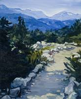 Trail to Whistler Mountain, British Columbia Print