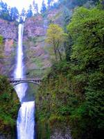 Multnomah Falls, Benson Bridge, Oregon 2