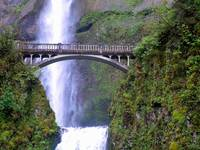 Multnomah Falls,Benson Bridge, Oregon 3