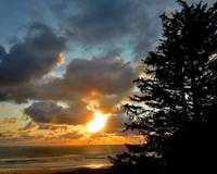 Oregon Sunset Over Pacific Ocean 4