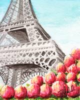 Spring at the Eiffel Tower