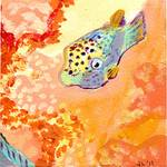 17 Fish, No 8 by Jennifer Lommers