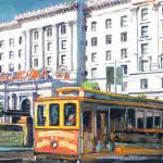 Cable Car 54 San Francisco California by RD Riccoboni