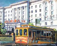 Cable Car 54 San Francisco California