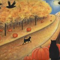 """""""Samhain Stroll"""" by visionaryartoflisathiel"""