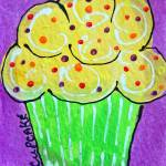 Lemon Cupcake Prints & Posters