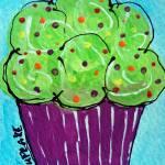 Lime Cupcake Prints & Posters