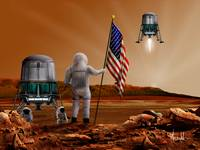 Martian Stars and Stripes