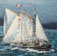 The Canadian Champion Schooner