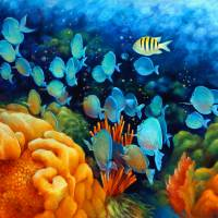 Sea eScape II - Wayward Fish by Nancy Tilles