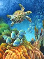 Sea eScape III - Gemstone Hawksbill Turtle