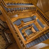 """Craigdarroch Castle - Main Staircase"" by CraigdarrochCastle"