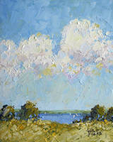 Palette Knife Lake by Joyce Hicks