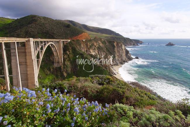 Bixby Creek Bridge Scenic