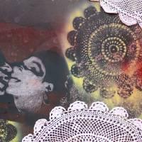 doilie love Art Prints & Posters by Julia Shub