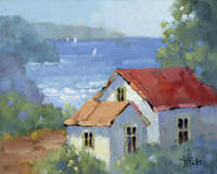 Pacific View Cottage by Joyce Hicks