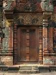 Banteay Srei Temple Chandi False Door 2