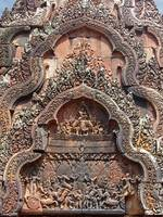 Banteay Srei Temple Chandi Carvings 2
