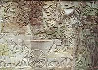 Bayon Temple Gallery Relief: Common People 1