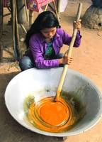 Making Palm Sugar