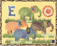 Safari Alphabet Elephants