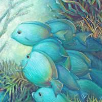 Sea Folk III by Nancy Tilles
