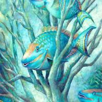 Sea Folk II by Nancy Tilles