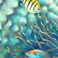 Sea Folk I by Nancy Tilles