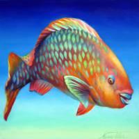 Parrot Fish by Nancy Tilles