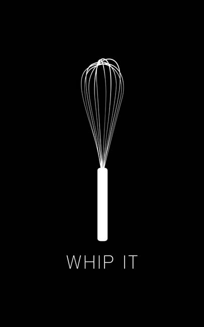 Whip It )Black(