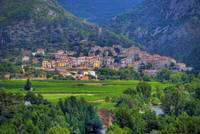 The Village of Roquebrun, Herault, France