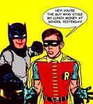 """Robin Confronts the School Bully"""