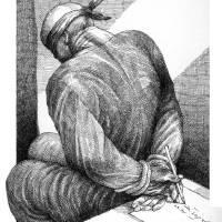 tied up! Art Prints & Posters by Touka Neyestani