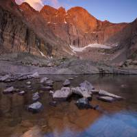 Longs Peak Sunrise Art Prints & Posters by Jim Dockery